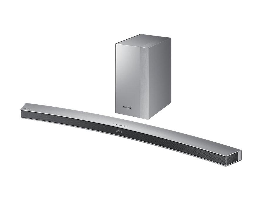 barre de son samsung incurv e 2 1 260w bluetooth caisson de basse sans fil izideals. Black Bedroom Furniture Sets. Home Design Ideas